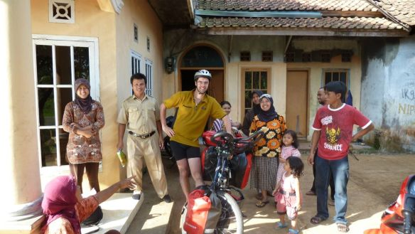 Kind family in Indonesia