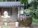 Rainwater harversting at Thai house